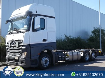 Mercedes-Benz ACTROS 2542 gigaspace retarder - container transporter/ swap body truck