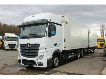 Mercedes-Benz ACTROS 2548 L/NR EURO 6, LOWDECK, 6X2 + SVAN  - container transporter/ swap body truck