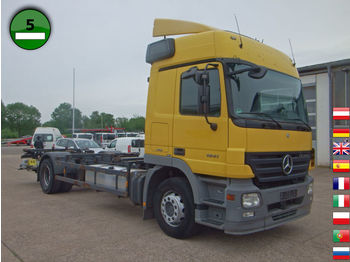 Mercedes-Benz Actros 1841 L HLB KLIMA AHK LBW Standheizung - container transporter/ swap body truck