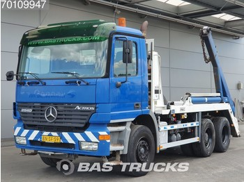Mercedes-Benz Actros 2540 K 6X2 Big-Axle Liftachse 3-Pedals Euro 3 - container transporter/ swap body truck