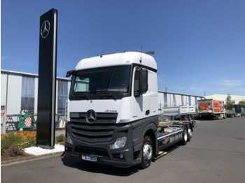 Mercedes-Benz Actros 2542 LL 6x2 BDF, Standklima, ADR, Euro 6  - container transporter/ swap body truck