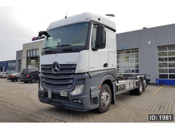 Mercedes-Benz Actros 2542 StreamSpace, Euro 6, Intarder - container transporter/ swap body truck