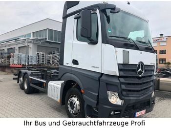 Container transporter/ swap body truck Mercedes-Benz Actros 2543 BDF 6x2 Liftachse (kein 2542,2545)