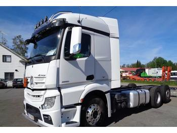 Container transporter/ swap body truck Mercedes-Benz Actros 2551