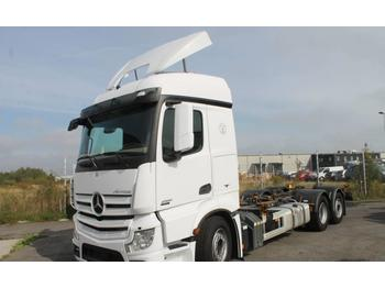 Mercedes-Benz Actros 2551  - container transporter/ swap body truck