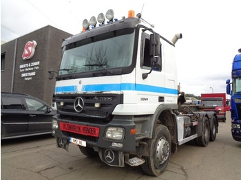 Mercedes-Benz Actros 3341 6x6 double system - container transporter/ swap body truck