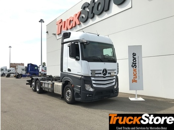 Container transporter/ swap body truck Mercedes-Benz Actros ACTROS 2543 L: picture 1