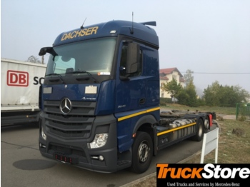 Mercedes-Benz Actros ACTROS 2545 L - container transporter/ swap body truck