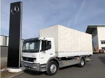 Mercedes-Benz Atego 1222 LL 4x2 BDF-Wechselfahrgestell + LBW  - container transporter/ swap body truck