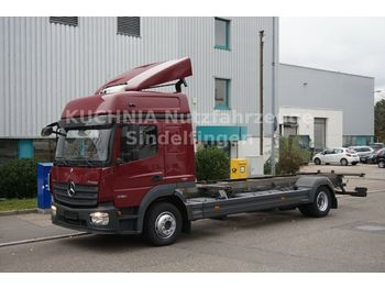 Mercedes-Benz Atego 4 1230LL BDF BigSpace Standklima Euro-6  - container transporter/ swap body truck