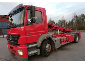 Container transporter/ swap body truck Mercedes-Benz Axor 1824 Multilift