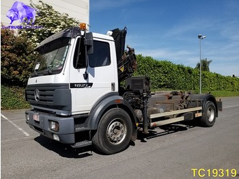 Container transporter/ swap body truck Mercedes-Benz SK 1827 Euro 2