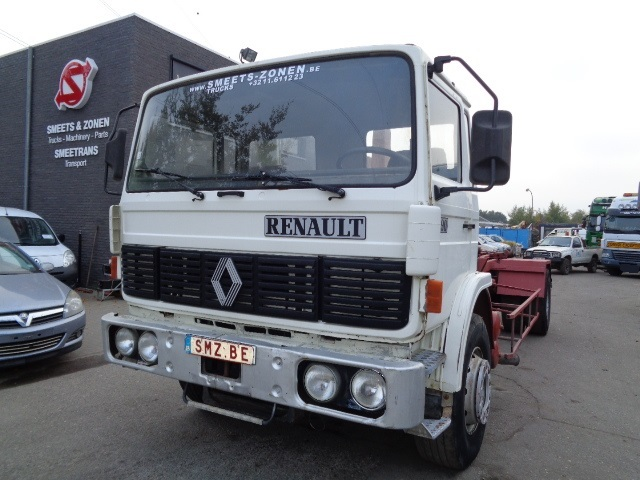 Container Transporter Swap Body Truck Renault G 290 Truck1 Id 3287775