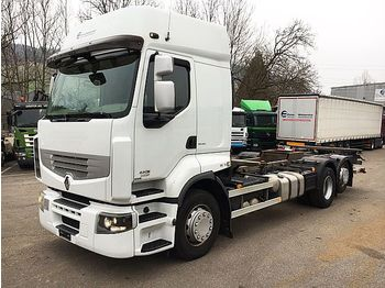 Renault PREMIUM 460 CONTAINERTRSP./LBW - container transporter/ swap body truck