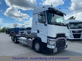 Renault * T 520 * COMFORT * WECHSELLFAHRGESTELL * ACC *  - container transporter/ swap body truck