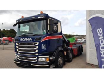 SCANIA G490 - container transporter/ swap body truck