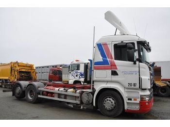 Container transporter/ swap body truck SCANIA R420 6X2