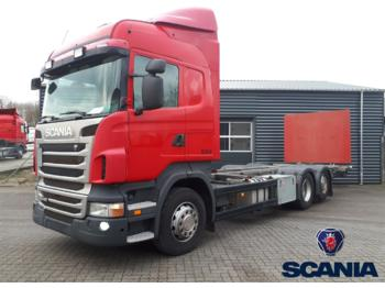 Container transporter/ swap body truck SCANIA R440: picture 1