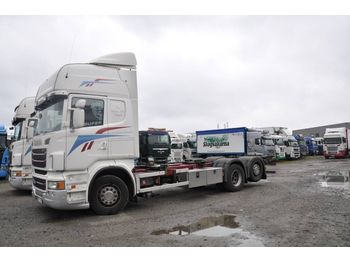 Container transporter/ swap body truck SCANIA R480