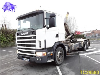 Scania 124 400 RETARDER - container transporter/ swap body truck