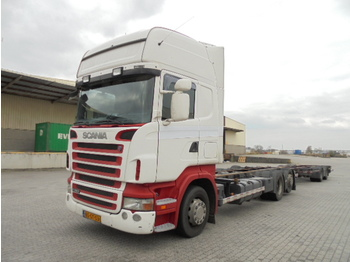 Scania 380 LB 6X2 MNB - container transporter/ swap body truck
