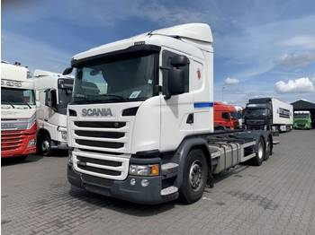 Scania G360 6X2 Euro 6 AD Blue - container transporter/ swap body truck