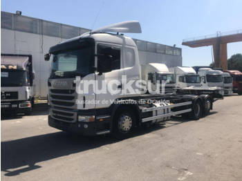 Container transporter/ swap body truck Scania G400 6X2*4