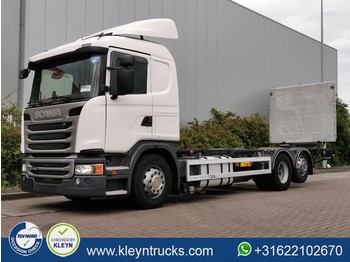 Container transporter/ swap body truck Scania G410 6x2*4 retarder