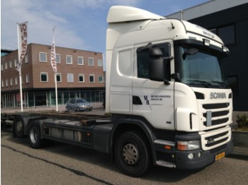 Scania G420 6X2 Highline - container transporter/ swap body truck