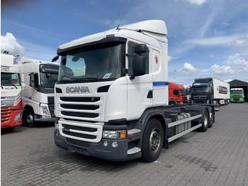 Scania G440 6X2 Retarder Euro 5 AD Blue - container transporter/ swap body truck