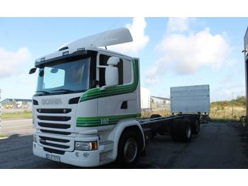 Scania G490LB6X2*4MNB Euro 6  - container transporter/ swap body truck