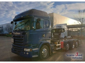 Scania G 410 LB8x2*6HNB - container transporter/ swap body truck