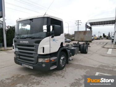 Container transporter/ swap body truck Scania P230-DB4X2MNA - Truck1 ID:  1140949