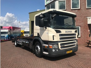 Scania P280B 4X2 BDF MIT LABEBORDWAND EURO5 - container transporter/ swap body truck