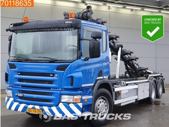 Container transporter/ swap body truck Scania P420 6X2 Liftachse EEV