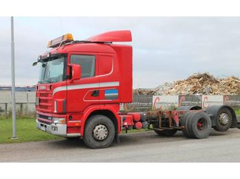 Scania R144LB6X2*4NA460  - container transporter/ swap body truck