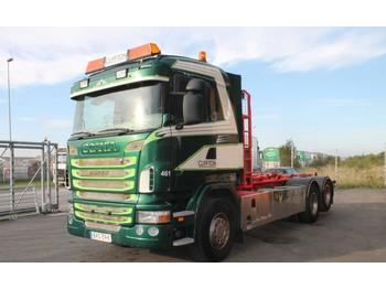Scania R400LB6X2HSZ Euro 5  - container transporter/ swap body truck