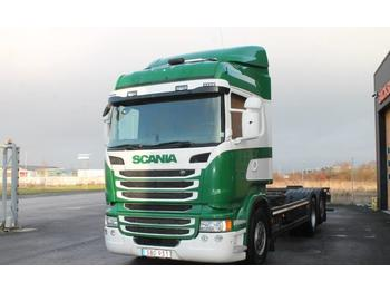 Container transporter/ swap body truck Scania R400LB6X2*4MNB: picture 1