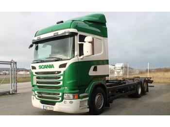 Scania R400LB6X2*4MNB Euro 5  - container transporter/ swap body truck