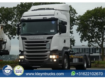 Scania R410 hl ret. scr only - container transporter/ swap body truck