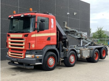 Scania R420 8x2 - container transporter/ swap body truck