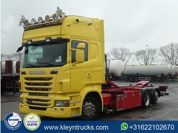 Scania R420 tl ret. 6x2*4 eev - container transporter/ swap body truck