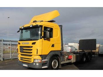 Scania R440LB6X2*4MNB  - container transporter/ swap body truck