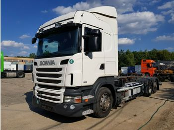 Scania R440 E6 retarder  - container transporter/ swap body truck