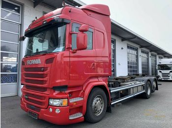 Container transporter/ swap body truck Scania R450LB6X2*4MNB Highline / BDF / SCR only