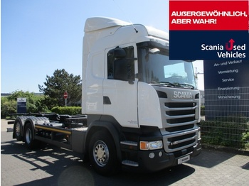 Container transporter/ swap body truck Scania R450 LB6X2 MNB - BDF 7,15 / 7,45 - SCR ONLY