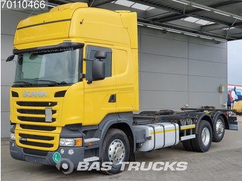 Container transporter/ swap body truck Scania R450 R450 6X2 Retarder Liftachse Standklima Euro 6: picture 1