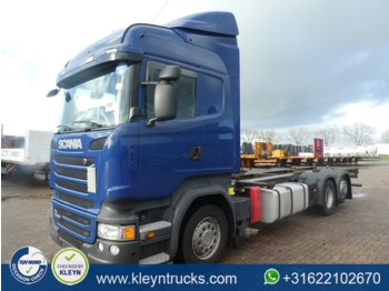 Container transporter/ swap body truck Scania R450 hl 6x2*4 e6 retarder