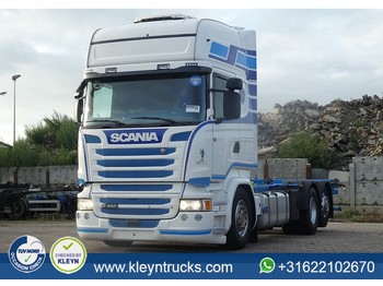 Container transporter/ swap body truck Scania R450 tl 6x2*4 399 tkm