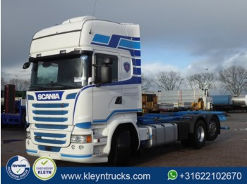 Container transporter/ swap body truck Scania R450 tl 6x2*4 scr only